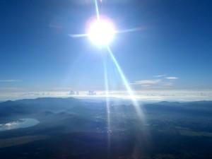 日本一の山、富士山に登ってきました!