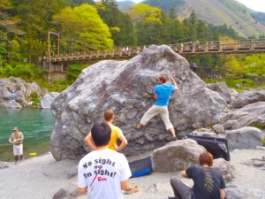 bouldering-navi-rock-mitake-toketa-softcream-iwa